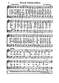 Onward, Christian Soldiers: E Flat Major by Arthur Seymour Sullivan