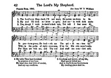 The Lord's My Shepherd: The Lord's My Shepherd by William Vincent Wallace
