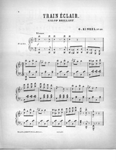Train éclair, Op.40: Train éclair by Charles Kinkel