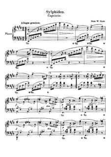 Three Album Leaves, WoO 108: No.2 Sylphide by Niels Wilhelm Gade