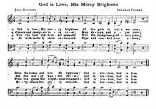 God is Love, His Mercy Brightens: God is Love, His Mercy Brightens by Ithamar Conkey