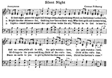 Silent Night: For choir by folklore