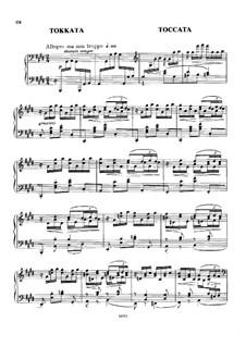 Toccata in C Sharp Minor: Toccata in C Sharp Minor by Mily Balakirev