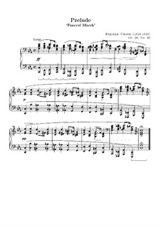 No.20 in C Minor: For piano (high quality sheet music) by Frédéric Chopin