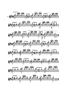 Twenty-Five Etudes for Guitar, Op.60: No.10 by Matteo Carcassi