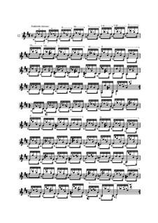 Twenty-Five Etudes for Guitar, Op.60: No.12 by Matteo Carcassi