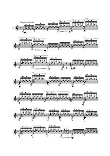 Twenty-Five Etudes for Guitar, Op.60: No.15 by Matteo Carcassi