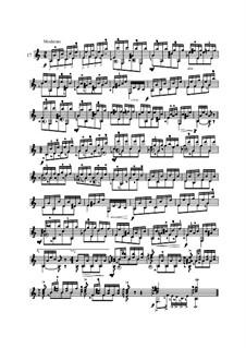 Twenty-Five Etudes for Guitar, Op.60: No.17 by Matteo Carcassi
