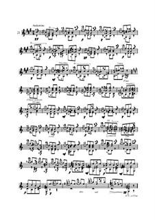 Twenty-Five Etudes for Guitar, Op.60: No.21 by Matteo Carcassi