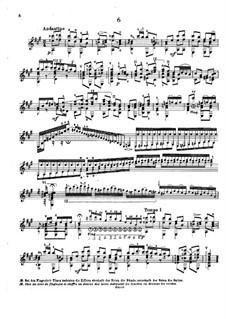 Twenty-Five Etudes, Op.38: Etude No.6 by Napoléon Coste
