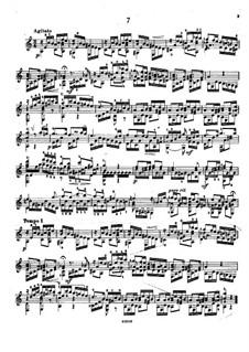 Twenty-Five Etudes, Op.38: Etude No.7 by Napoléon Coste