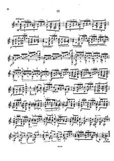 Twenty-Five Etudes, Op.38: Etude No.18 by Napoléon Coste