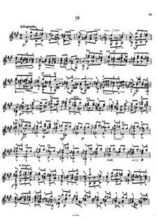 Twenty-Five Etudes, Op.38: Etude No.19 by Napoléon Coste
