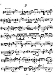 Twenty-Five Etudes, Op.38: Etude No.24 by Napoléon Coste