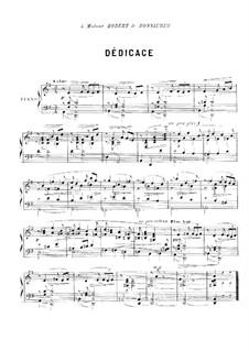 Quelques danses, Op.26: Complete set by Ernest Chausson
