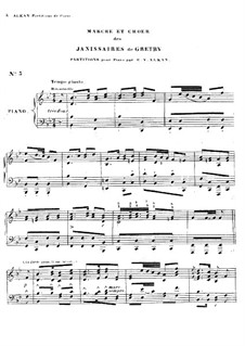 The Two Misers. March and Choir: The Two Misers. March and Choir by André Grétry