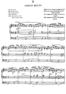Organ Sonata No.3 in C Minor, Op.56: Movement II by Alexandre Guilmant
