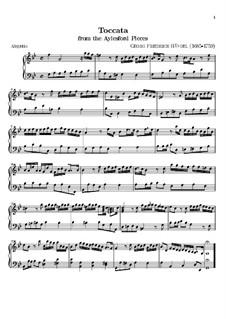 Aylesford Pieces: Toccata by Georg Friedrich Händel