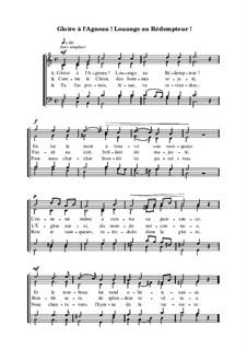 Gloire à l'Agneau! Louange au Rédempteur: Gloire à l'Agneau! Louange au Rédempteur by Ferdinand-Samuel Laur