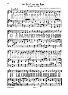 Die Lore am Tore: Die Lore am Tore by Unknown (works before 1850)