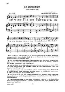 Bundesfeier: Bundesfeier by Unknown (works before 1850)