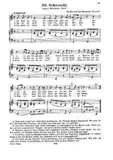 Sehnsucht: Sehnsucht by Johann Heinrich Carl Bornhardt