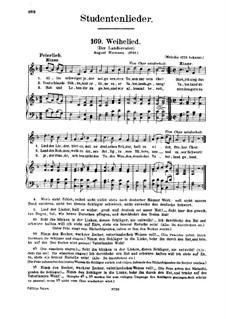 Weihelied: Weihelied by Unknown (works before 1850)