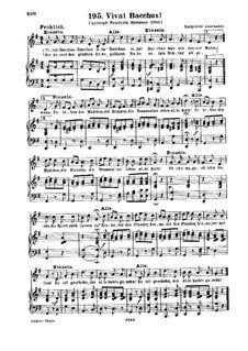 Vivat Bacchus: Vivat Bacchus by Unknown (works before 1850)