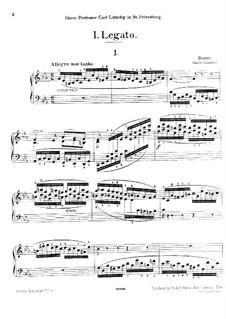Eight Etudes, Op.81: Eight Etudes by Johann Baptist Cramer