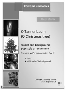 O Christmas Tree (O Tannenbaum): For voices by folklore
