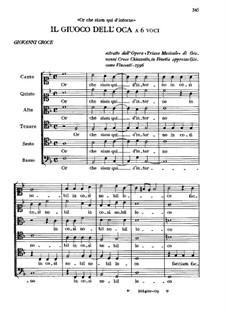 Il Giuoco dell'oca: Il Giuoco dell'oca by Giovanni Croce
