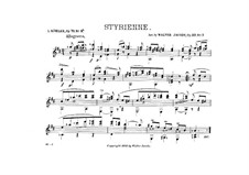 Styrienne, for Guitar, Op.79 No.4: Styrienne, for Guitar by Louis Köhler