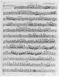 Quartet for Flute and Strings No.5 in B Flat Major: Quartet for Flute and Strings No.5 in B Flat Major by Franz Anton Hoffmeister