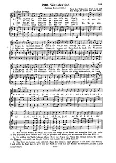 Wanderer's Song: Wanderer's Song by Unknown (works before 1850)