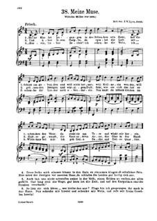 Meine Muse: Für Stimme und Klavier by Justus Wilhelm Lyra