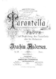 Tarantella, Op.10: Tarantella by Joachim Andersen