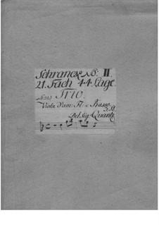 Trio Sonata for Flute, Viola d'amore and Basso Continuo, QV 2:Anh.29: Trio Sonata for Flute, Viola d'amore and Basso Continuo by Johann Joachim Quantz
