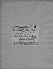 Trio Sonata for Flute, Recorder and Basso Continuo, QV 2:Anh.3: Trio Sonata for Flute, Recorder and Basso Continuo by Johann Joachim Quantz