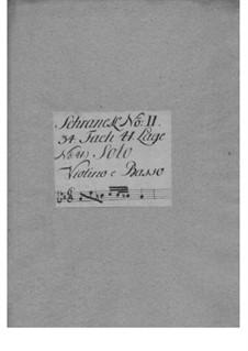 Sonata for Violin and Basso Continuo in C Minor, TWV 41:c2: Sonata for Violin and Basso Continuo in C Minor by Georg Philipp Telemann