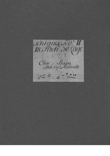 Sonata for Oboe and Basso Continuo in G Minor, TWV 41:g10: Sonata for Oboe and Basso Continuo in G Minor by Georg Philipp Telemann