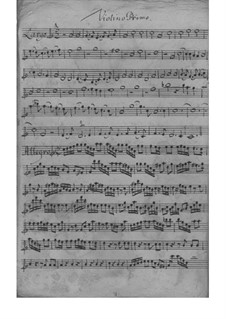 Quartet for Strings and Basso Continuo in C Major, TWV 43:C1: Quartet for Strings and Basso Continuo in C Major by Georg Philipp Telemann