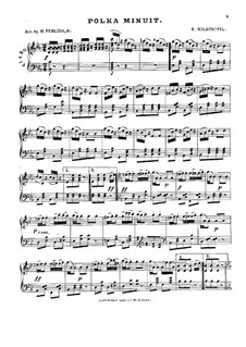 Midnight Polka, Op.168: For piano by Émile Waldteufel