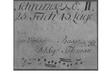 Trio Sonata for Two Violins and Basso Continuo in D Major, TWV 42:D1: Trio Sonata for Two Violins and Basso Continuo in D Major by Georg Philipp Telemann