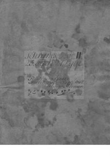Trio Sonata for Violin, Flute (or Violin II) and Basso Continuo, TWV 42:D4: Parts by Georg Philipp Telemann