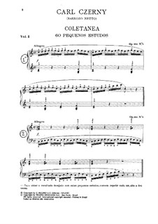 Sixty Small Sketches: For piano by Carl Czerny