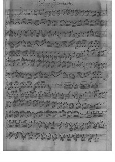 Concerto for Violin, Strings and Basso Continuo in F Major, TWV 51:F2: Concerto for Violin, Strings and Basso Continuo in F Major by Georg Philipp Telemann