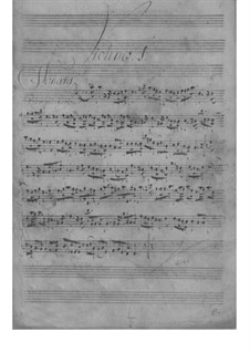 Trio Sonata for Two Violins and Basso Continuo, TWV 42:d9: Trio Sonata for Two Violins and Basso Continuo by Georg Philipp Telemann