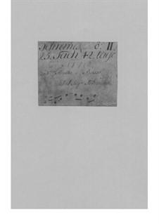 Trio Sonata for Violin, Flute and Basso Continuo in E Minor, TWV 42:e7: Trio Sonata for Violin, Flute and Basso Continuo in E Minor by Georg Philipp Telemann
