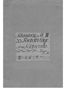 Concerto for Two Violins and Orchestra, TWV 52:e4: Concerto for Two Violins and Orchestra by Georg Philipp Telemann
