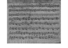 Concerto for Two Violins, Strings and Basso Continuo in G Major, TWV 52:G2: Concerto for Two Violins, Strings and Basso Continuo in G Major by Georg Philipp Telemann